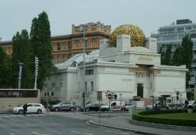 Secession Museum housing Klimt's Beethoven Frieze 1902