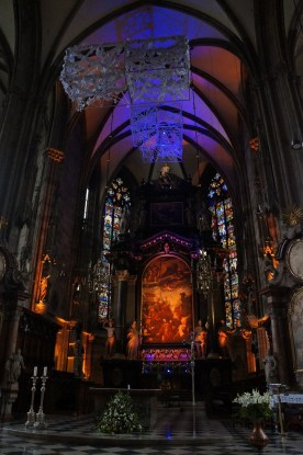 Stephansdom Altar