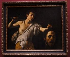 Caravagio: David with the head of Goliath