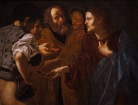Caravaggio - Tribute Money