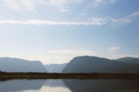 Western Brook Pond from the dock