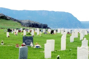 Cemetery at Rocky Harbour