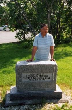 """""""Princess Sheila"""" Gravesite"""