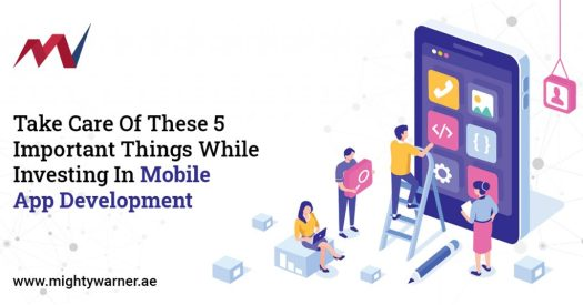Take Care Of These 5 Important Things While Investing In Mobile App Development