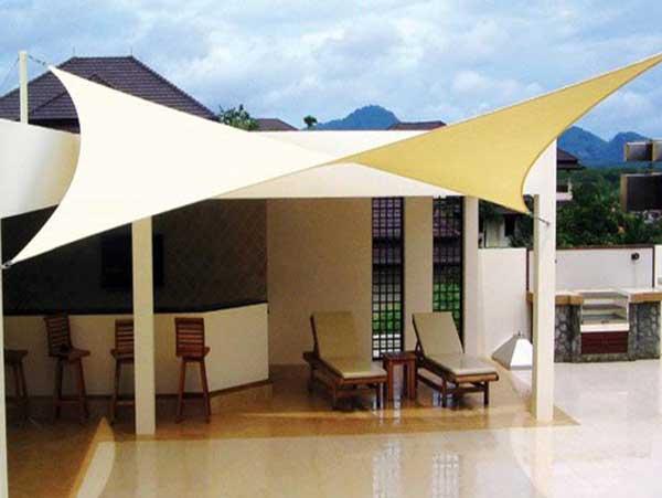 Vela ombreggiante hegoa triangolare bianco 360 x 360 cm. Tende A Vela Per Giardino Recensione Dei Migliori Modelli Con Prezzi Il Portale Dei Consigli Sugli Utensili
