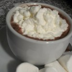the most delish hot chocolate ever…