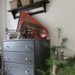 Twelve Days of Christmas: Christmas Dresser Makeover