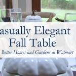Casually Elegant Fall Table