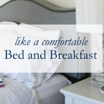 Comfortable Bed & Breakfast Sheets
