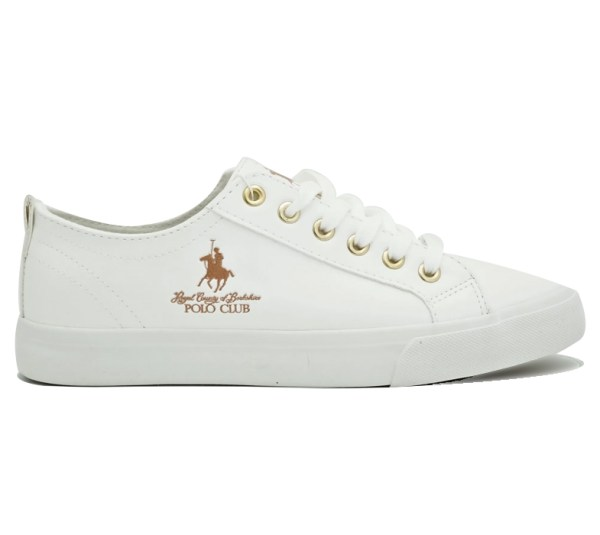 Tenis Beverly Hills Polo Club 6737 Blanca con Rosegold 1