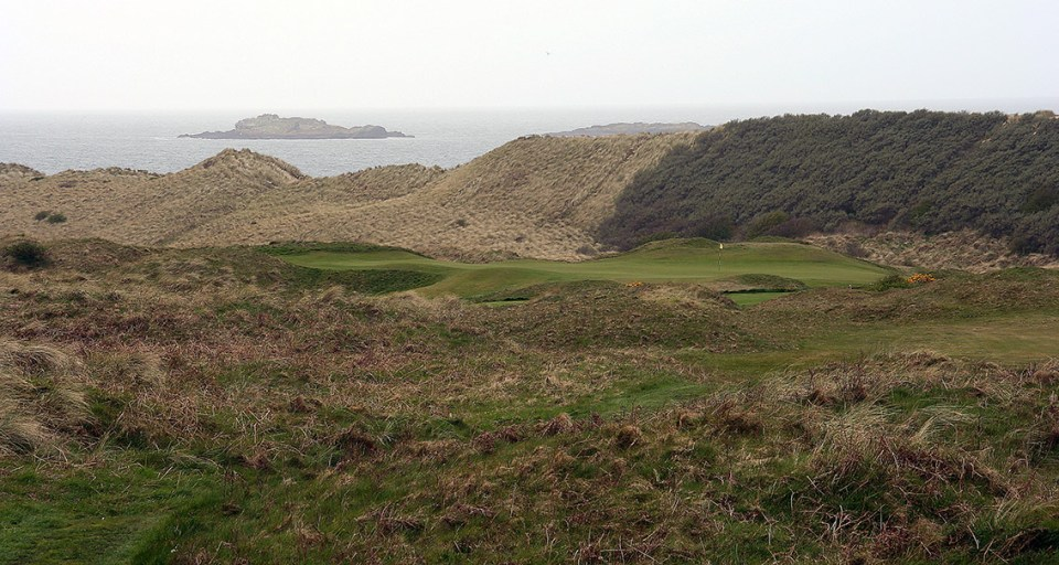 The dunes shelter the fairways. But also they breed swirling winds that have a tendency to inflict your ball flight in the less favorable way.