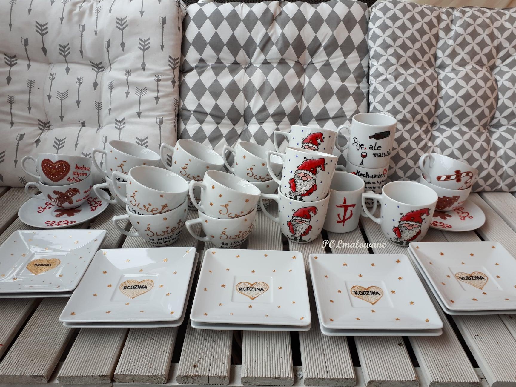 Polski prezent dla obcokrajowca: porcelana malowana