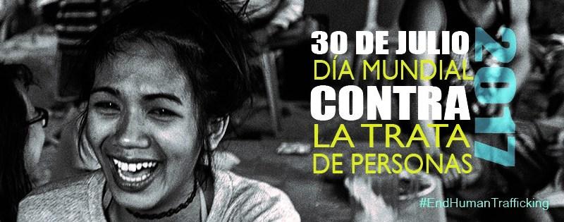 Dia Mundial contra la tratta 30 Julio 2017
