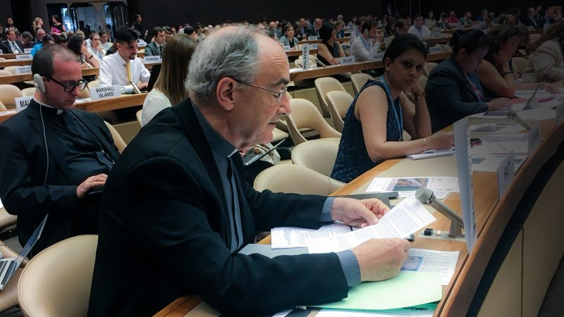 Statement given by Fr. Czerny at the United Nations in Geneva