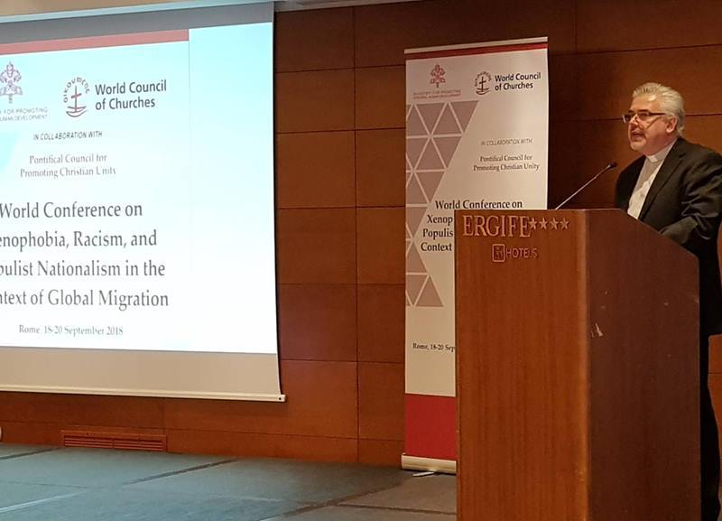 """""""Now is time for action!"""" Fr Fabio Baggio at the Xenophobia Conference"""