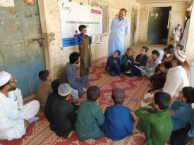 ICMC-A Child introducing himself to his CHAST team