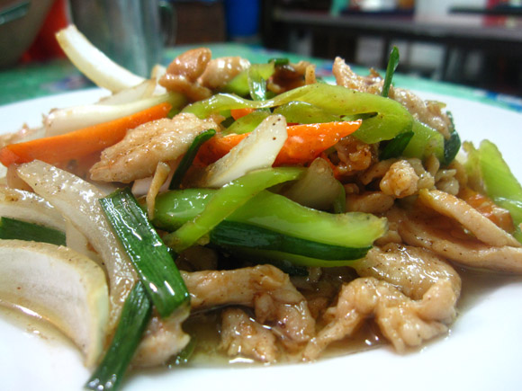 pad prik yuak 100 Thai Dishes to Eat in Bangkok: The Ultimate Eating Guide