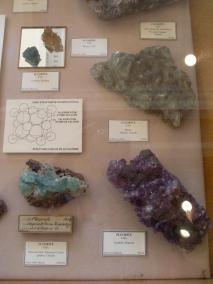 Structures minérales