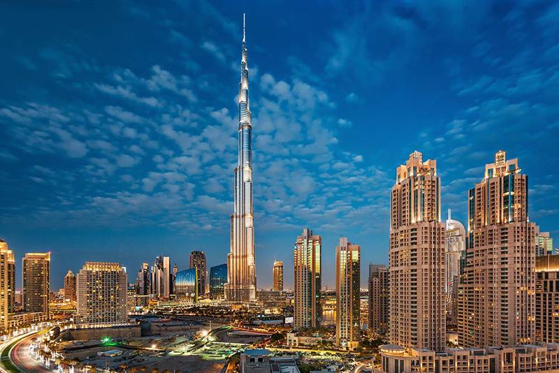 Нова Година 2021 во Дубаи