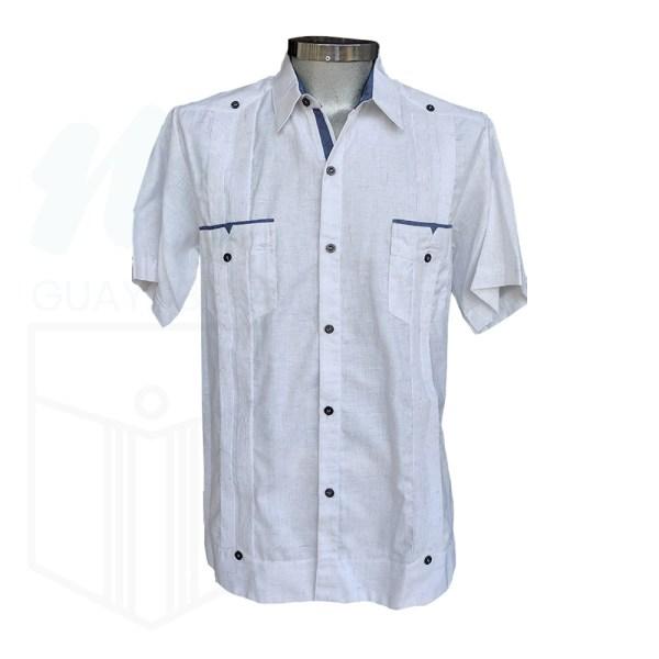 Guayabera Camisa combinada