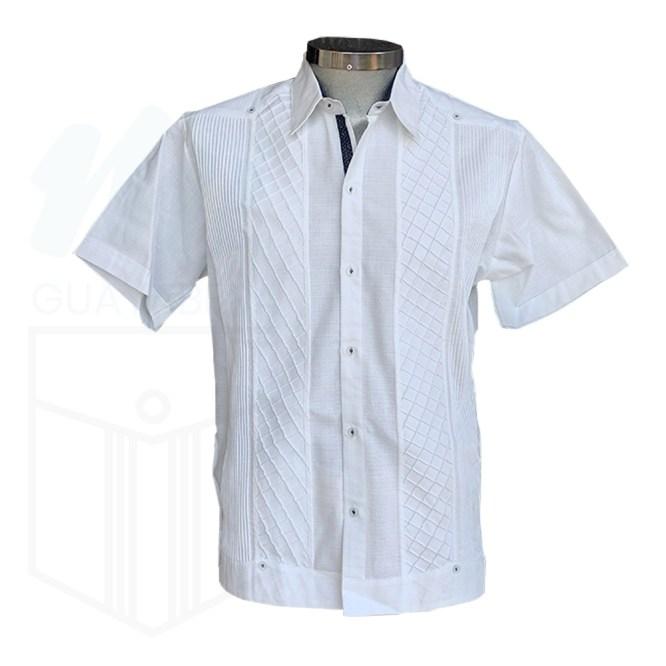 Guayabera camisa panal