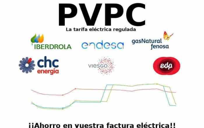 Cabecera del articulo sobre la tarifa PVPC