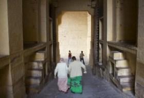 Rampa y puerta en curva del Fuerte