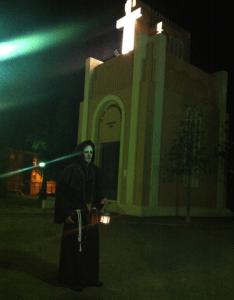 Ruta Teatralizada Nocturna, Sede Junta Mayor de Hermandades de Semana Santa. Fuente: el Autor.