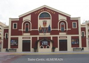 Teatro Cortés. Fuente: Almoradí Turismo