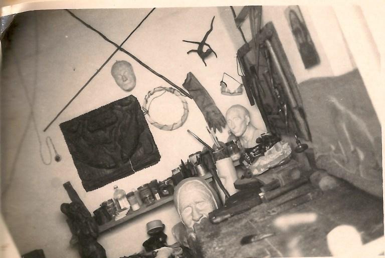 Mi primer taller y mis primeras Esculturas