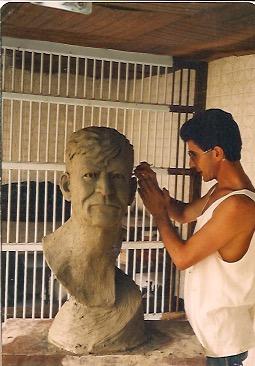 Historia de mis talleres                     Taller de Laureles .  1991-1993