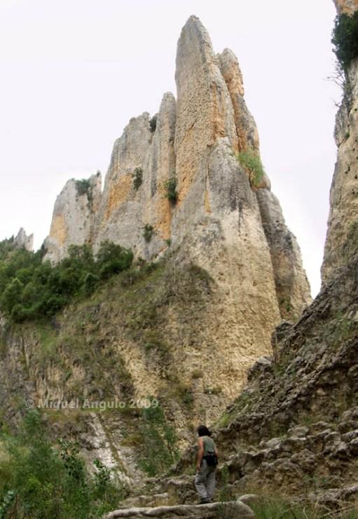 Rocas de la Vila, Finestres (Aragón-España)
