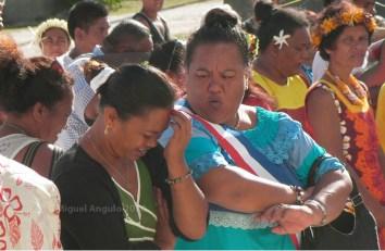 Cérémonie du 14 juillet sur l'Atoll d'Anaa