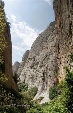 Le Canyon supérieur de la Val d'Onsera.