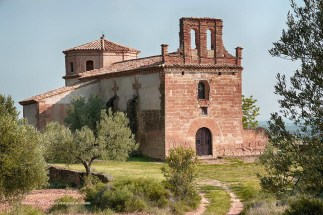 Casbas, ermita San José (XVIIe)