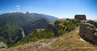 Au sommet de la Peña de San Miguel