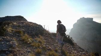 La Peña de San Miguel depuis Amán