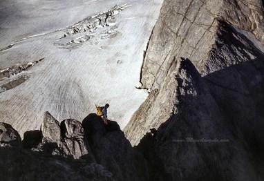 Petit Vignemale, Col des Glaciers, Arête de la Pointe Chausenque, 1985