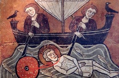 Chapelle Sta Maria de Liesa : fresque du Gothique tardif (XIVe)