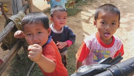 Bansamsaath, près de Nong Khiaw (Laos)