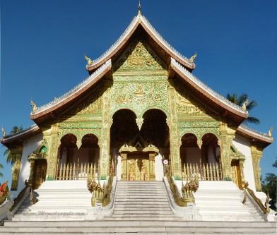 Temple Haw Pha Bang du Palais Royal de Luang Prabang (Laos)