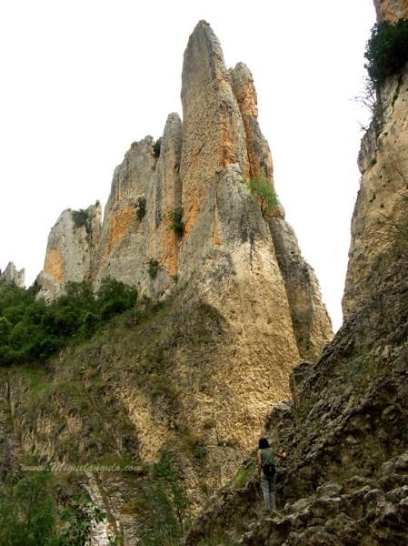 Finestres, Porte Ouest des Roques de la Vila en 2009, hors d'eau.