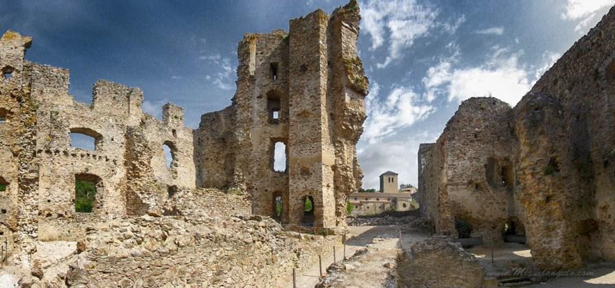 Château de Saissac (Aude)