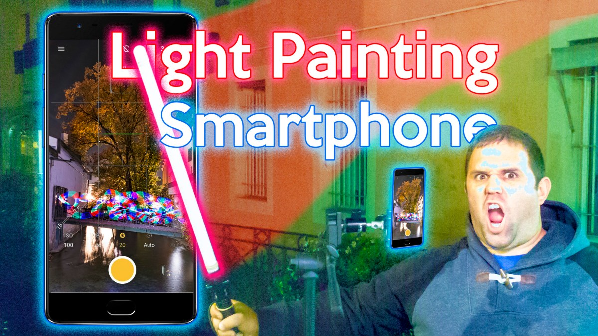 Smartphone Light Painting Photography