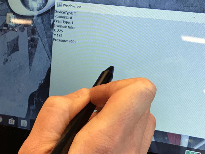 Testing my Lenovo pen 5T70K13857