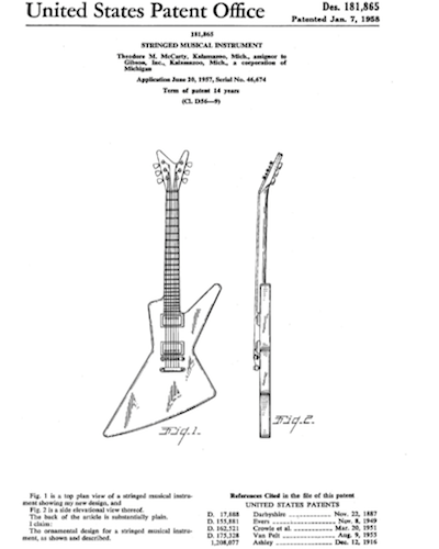 Como patentar una guitarra electrica