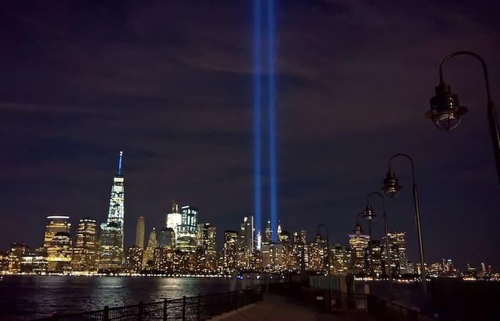 cielo de nueva york torres gemelas