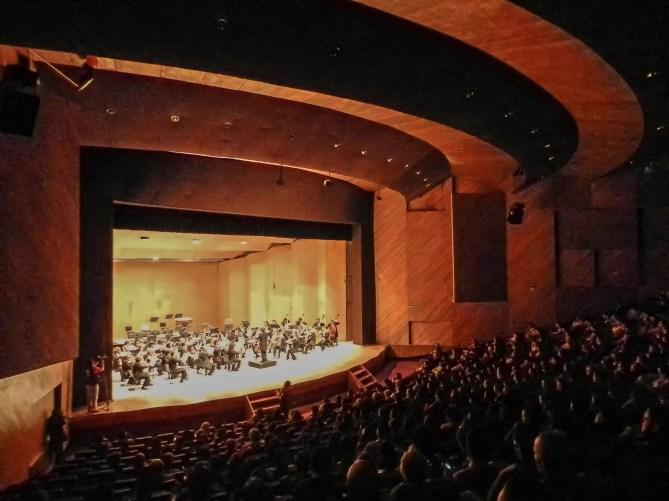 2014, Michoacan Symphony Orchestra. Teatro Morelos, Morelia, Mich., Mexico. Photo, Ramon Merino