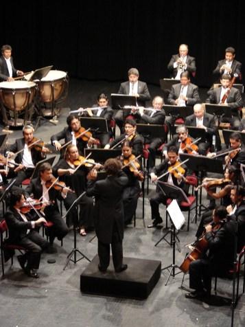 2012, Beethoven Cycle. Michoacan Symphony Orchestra. Photo, Ramon Merino