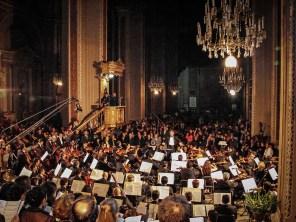 2014, A German Requiem Brahms. Michoacan Symphony Orchestra. Photo, Ramon Merino